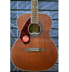 Fender Tim Armstrong Hellcat Left-Handed Electro Acoustic Guitar, Natural