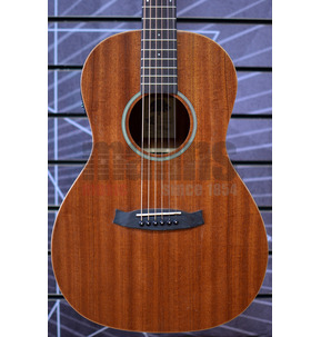 Tanglewood Winterleaf TW3 E Parlour Natural Electro Acoustic Guitar & Case