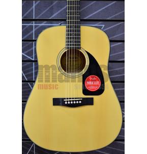 Fender Classic Design CD-60 V3 Dreadnought Natural Acoustic Guitar & Case
