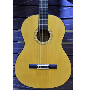 Fender CN-60S Nylon Classical Guitar, Natural, Walnut