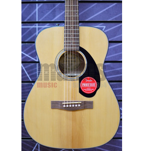 Fender CC-60S Acoustic Guitar, Natural, Walnut