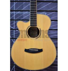 Tanglewood Discovery DBT SFCE BW LH Left-Handed Electro Acoustic Guitar