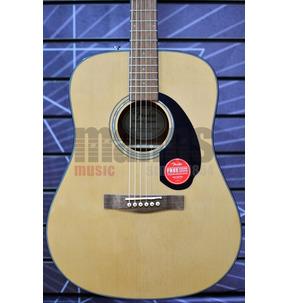 Fender CD-60 Dread V3 DS Acoustic Guitar, Natural, Walnut