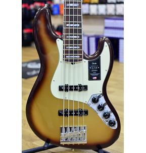 Fender American Ultra Jazz Bass V, Mocha Burst, Rosewood