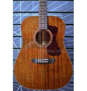 Guild Westerly D-120 Dreadnought Natural All Solid Acoustic Guitar & Case