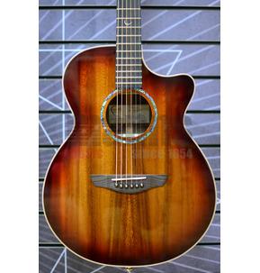 Faith FVBMB Blood Moon Venus Cutaway Electro Acoustic Guitar & Hard Case