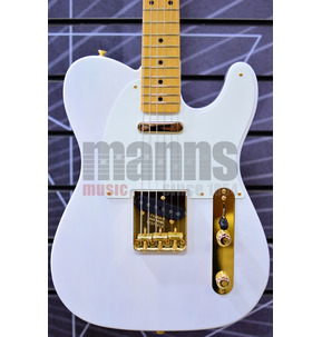 Fender Limited Edition American Original '50s Telecaster, White Blonde, Maple