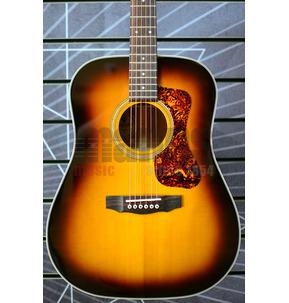 Guild Westerly D-140 Acoustic Guitar & Case, Antique Sunburst