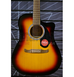 Fender FA-125CE Dreadnought Electro Acoustic Guitar, Sunburst