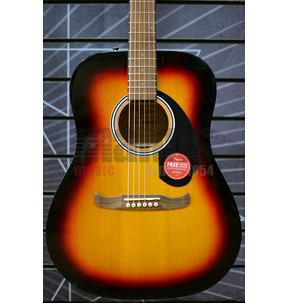 Fender FA-125 Dreadnought Acoustic Guitar & Gig Bag, Sunburst
