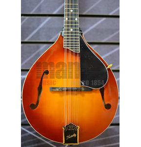 Kentucky Artist KM-505 A Style Amber Burst All Solid Mandolin