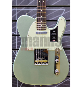 Fender American Professional II Telecaster, Mystic Surf Green, Rosewood