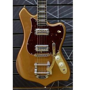 Fender Parallel Universe Volume II Maverick Dorado, Firemist Gold, Ebony & Case