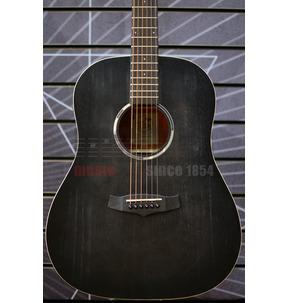 Tanglewood Blackbird TWBB SDE Slope Dreadought Smokestack Black Electro Acoustic Guitar