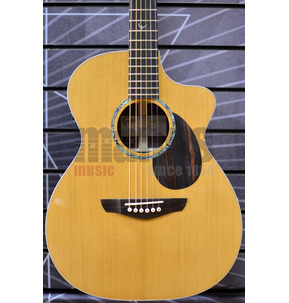 Faith PJE Legacy FG2HCE Earth OM Natural All Solid Electro Acoustic Guitar & Case