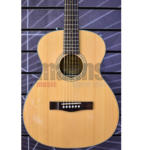 Fender CT-140SE Electro Acoustic Guitar & Hard Case, Natural, Rosewood