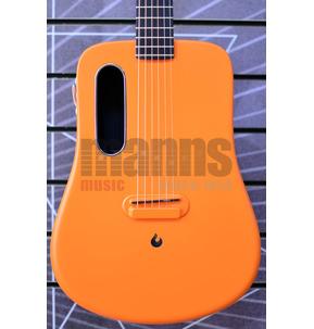 LAVA ME 2 Freeboost Orange Electro Acoustic Travel Guitar & Case