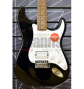 Fender Electric Guitar - Squier Bullet Stratocaster With Tremolo HSS in Black