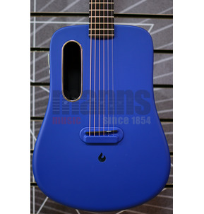 LAVA ME 2 Freeboost Blue Travel Electro Acoustic Guitar & Case