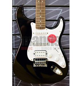 Fender Squier Bullet Stratocaster HT HSS Black Electric Guitar