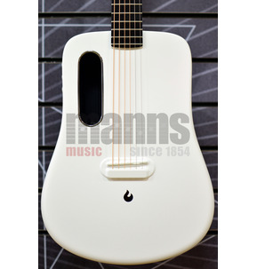 LAVA ME 2 Freeboost White Travel Electro Acoustic Guitar & Case