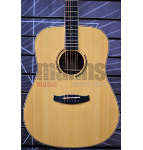 Tanglewood Discovery Exotic DBT D EB Dreadnought Natural Acoustic Guitar