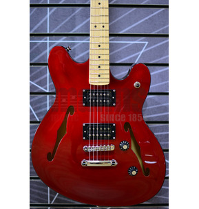Fender Squier Affinity Series Starcaster, Candy Apple Red, Maple