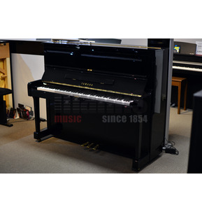 Secondhand Yamaha U1M Upright Piano - Black Polyester
