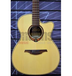 Lag Tramontane 88 T88ACE Auditorium Natural Electro Acoustic Guitar