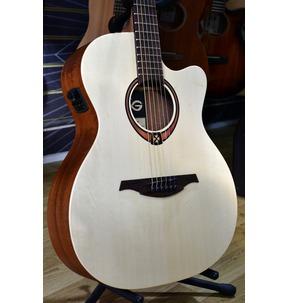 Lag Tramontane 70 T70ACE Auditorium Cutaway Electro Acoustic Guitar