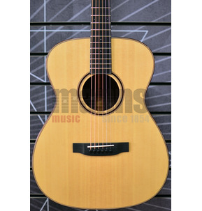 Auden Artist R Bowman OM Natural All Solid Acoustic Guitar & Case