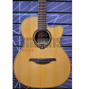 Lag Tramontane 170 T170ACE Auditorium Natural Electro Acoustic Guitar