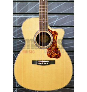 Guild Westerly OM-250CE Reserve Orchestral Model Natural Electro Acoustic Guitar