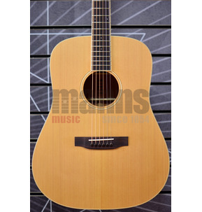 Auden Neo Colton Dreadnought Natural All Solid Acoustic Guitar & Case