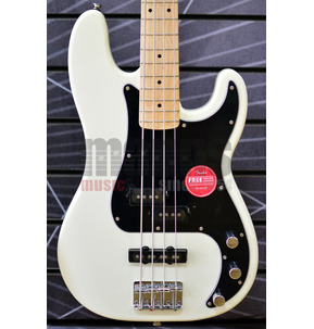 Fender Squier Affinity Series Precision Bass PJ Olympic White Electric Bass Guitar
