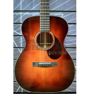 Huss & Dalton Traditional TOM-M Custom Orchestra Model Sunburst All Solid Acoustic Guitar & Case