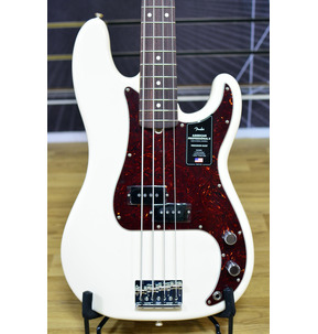 Fender American Professional II Precision Bass, Olympic White, Rosewood