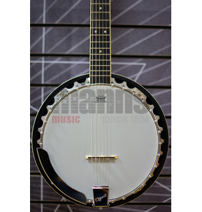 Ozark 2103 6-String Guitar Banjo & Case
