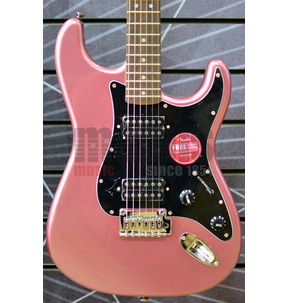 Fender Squier Affinity Series Stratocaster HH Burgundy Mist Electric Guitar