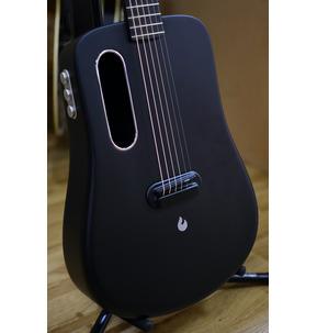 LAVA ME 2 Freeboost Black Electro Acoustic Travel Guitar & Case