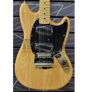 Fender Artist Ben Gibbard Mustang Natural Electric Guitar & Case