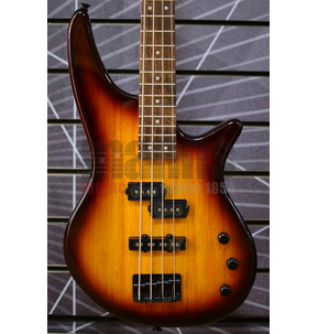 Jackson JS Series Spectra Bass JS2, Tobacco Burst, Laurel