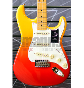 Fender Player Plus Stratocaster Tequila Sunrise Electric Guitar & Case