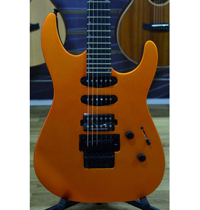 Jackson Pro Series Soloist SL3, Satin Orange Blaze, Ebony