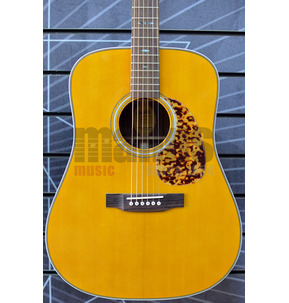 Blueridge Historic Series BR-160 Dreadnought Natural All Solid Acoustic Guitar