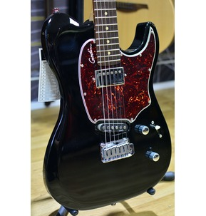 Godin Session Custom '59 - Black HG Rosewood Neck Electric Guitar & Case