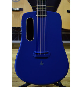LAVA ME 2 Freeboost Blue Electro Acoustic Travel Guitar & Case