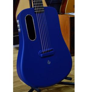 LAVA ME 2 Freeboost Blue Electro Acoustic Travel Guitar & Case