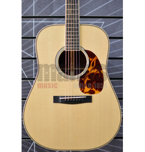 Huss & Dalton Traditional TD-R The Pilgrim Dreadnought Natural All Solid Acoustic Guitar & Case