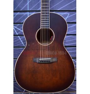 Auden Tobacco Burst Chester 000 Electro Acoustic Guitar & Case